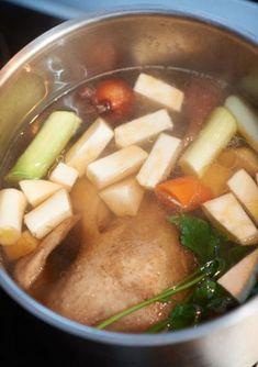 Grundrezept Hühnerbrühe Rezept - [ESSEN UND TRINKEN]