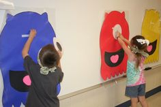 "Monster Game - I love the idea of a ""Monster Bash"" for our class party"