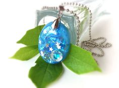 IFgal blue star vintage inspired charm necklace by IFgal on Etsy, $20.00