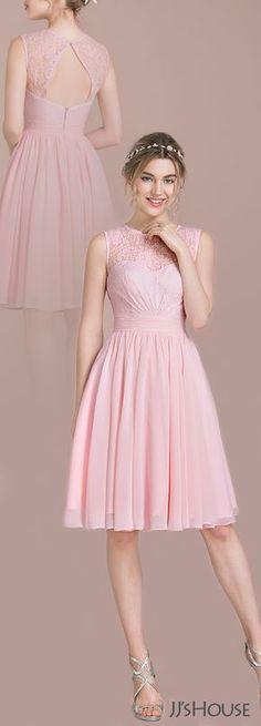 #JJsHouse #Bridesmaid lindo vestido com escote en la espalda