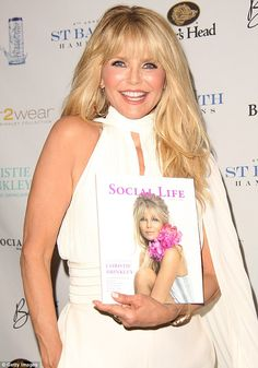Focused on work: Christie Brinkley is 'too busy' to date. She is pictured on Saturday in Bridgehampton, NY