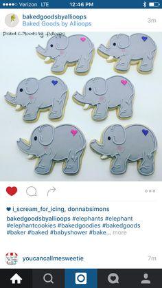 how to make elephant cookies