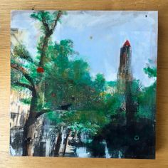 Photo artwork of Utrechts Dom tower. http://www.studioblomm.nl