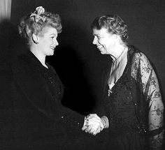 Lucy and Eleanor Roosevelt