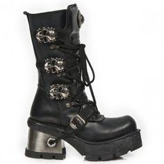 Sapatos e botas mulheres New Rock da coleção Goth New Rock