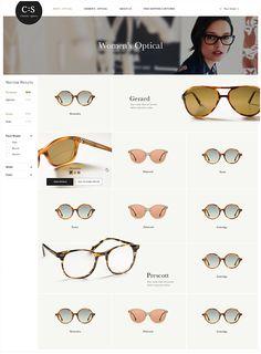 [Classic Specs] E-Commerce Design Sites, Web Design Tips, Layout Design, Web Layout, Logo Design, Website Design Inspiration, E Commerce, Shop Banner Design, Modern Web Design