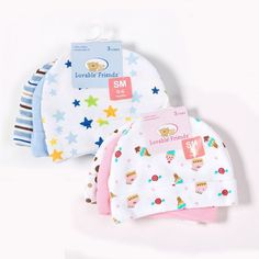 3pcs/lot Baby Hats Luvable Friends Pink/Blue Star Printed Baby Hats & Caps for Newborn Baby Accessories $15.97   #shopping #style #love #instafashion #styles #swag #fashion #iwant #cool #streetstyle #instalike #beautiful #model #ootd #fashionista