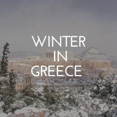 Discover winter in Greece! Greece Vacation, Greece Travel, Best Places In Greece, Greece Culture, Greek Islands To Visit, Greece Holiday, Ski Holidays, Where To Go