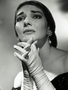 Maria Callas as Floria in Tosca, the Most Renowned Opera Singer of the 1950s Photographic Print