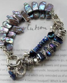 ON SALE bracelet lapis lazuli bracelet labradorite by soulfuledges