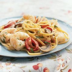 Creamy Cajun Shrimp Linguine-I will definitely substitute the low sodium chicken broth with home made bone broth.  There is no comparison!