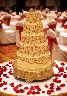 Party on pinterest gold wedding cakes wedding cakes and cakes