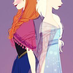 Frozen elsa and anna #frozen