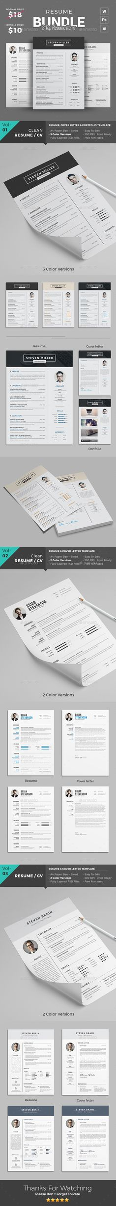 Dj and Musician Dark Press Kit \/ Resume Template Press kits - dj resume