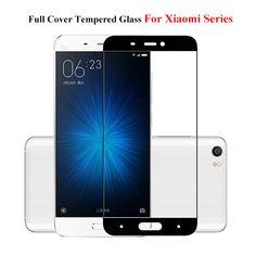 Full Cover Tempered Glass For Xiaomi Redmi 3S 3 3X Mi5 Mi4 Mi 5 S Mi5S Plus Note 2 4 Pro Prime 4A Screen Protector Cover Film
