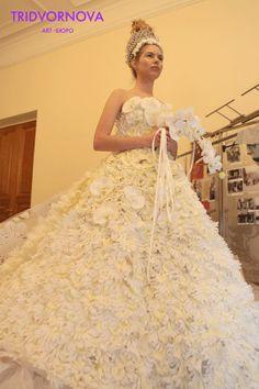 Цветочное платье.