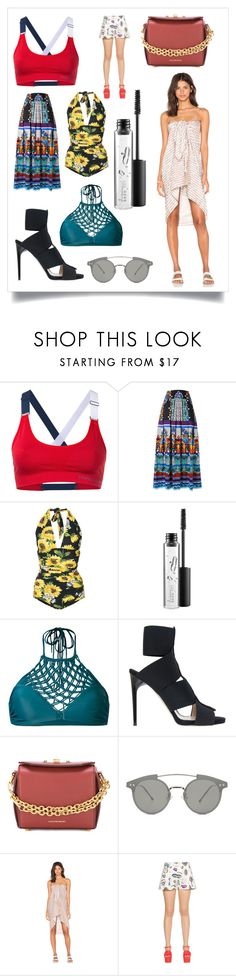 """""""creativity never goes out of style"""" by kristen-stewart-2989 ❤ liked on Polyvore featuring Perfect Moment, Alberta Ferretti, Dolce&Gabbana, MAC Cosmetics, Mikoh, Paul Andrew, Alexander McQueen, Spitfire, Acacia Swimwear and Boutique Moschino"""