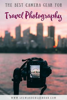 The number one question I receive as a travel blogger and Instagrammer is that what camera gear do I use for my photos? Therefore I put together a complete list about all the travel photography gear we use on our travels! It's perfect for everyday travelers, travel bloggers and Instagrammers as well! #travelphotography #photographytips #shewandersabroad | Best camera gear for travel photography | Best cameras for travel bloggers | Travel Photography Tips | Best photography gear for traveling Photography Gear, Amazing Photography, Photography Equipment, Portrait Photography, Wedding Photography, Landscape Photography, Camera Gear, Leica Camera, Nikon Dslr