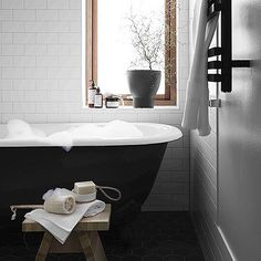 Is it just me or do we see wooden windows trending? New house project from @bloocstockholm #interior #bathroom : Kristofer Johnson