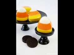 Chocolate Candy Corn Oreo Cookie Halloween Tutorial - YouTube #video #party #tutorials #dessertstable #candybar #DIY #printables #halloween #candycorn #recipe