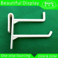 Plastic Double Wires Hook Display for Cardboard