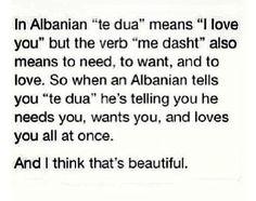 Të dua moj gjuhë shqipe! #Albanian