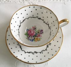 "Salisbury China Tea Cup & Saucer ""Dijon"""
