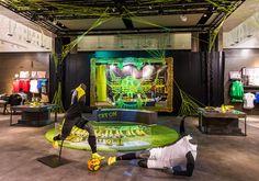 NIKE Retail Interior | Magista, 2014 | Create Attack | Niketown London | by Millington Associates