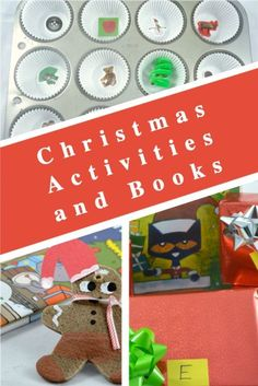 Fun and playful Christmas activities and books for a month full of holiday fun at school or home. #christmasactivities #christmasbooks Happy Christmas HAPPY CHRISTMAS | IN.PINTEREST.COM #WALLPAPER #EDUCRATSWEB