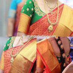 Elbow Length Sleeves Wedding Blouse photo