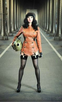 Lady Rocketeer by Riddle