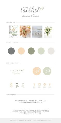 Wedding Brand Reveal: Satchel Planning and Design Webdesign Inspiration, Logo Design Inspiration, Brand Identity Design, Corporate Design, Brand Design, Logo Moda, Site Web Design, Logo Design Website, Wedding Website Design