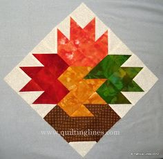~ Quilting Lines: Free Patterns.