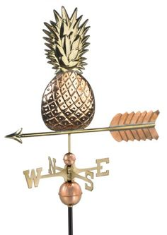 Good Directions 9635P Pineapple Weathervane, Polished Copper Good Directions http://www.amazon.com/dp/B0006U52XO/ref=cm_sw_r_pi_dp_xTKuvb11YSK64