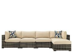 Wilson & Fisher Sonoma Resin Wicker Modular Patio Seating Collection ...