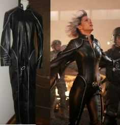 Storm Costume: angled view and empty