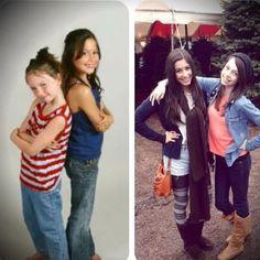 It's crazy how quick they grew up!! Love u Lauren and Dani!