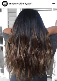 If I keep my hair growing Dark Brunette Balayage, Balayage Hair Caramel, Brunette Hair, Bayalage, Asian Hair, Fall Hair, Hair Dos, Ombre Hair, Gorgeous Hair