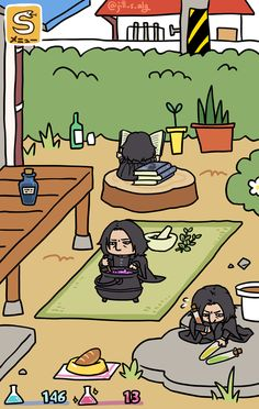 Neko Atsume mit Snape- gehts besser ? :-D