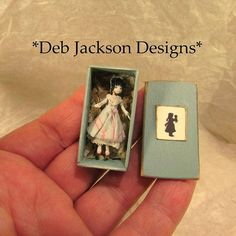 2017, By debjacksondesigns tiny doll for a doll♡ ♡