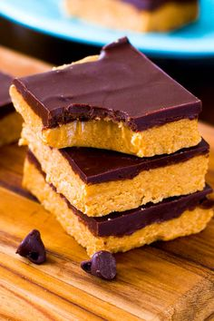 Easy homemade Chocolate Peanut Butter Cup Bars