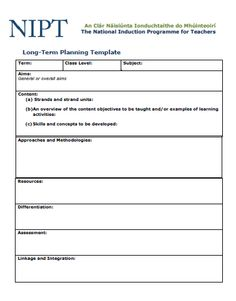 Long Term Planning Template Free Lesson Planner, Teacher Planner Free, Physical Education Lesson Plans, Health Lesson Plans, Action Plan Template, Lesson Plan Templates, Teacher Plan Books, Lesson Plan Format, Learn C