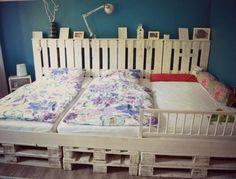 camas con palets reciclados