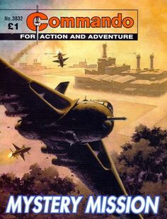 As a contemporary aircraft the Vulcan rarely appeared in the war comics of its day, since the vast majority of their stories were set during the Second World War but, needless to say, it has appeared in Commando. In July 2005, issue 3832 had an Ian Kennedy cover of a Vulcan being chased by Soviet surface to air missiles.