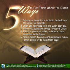 5 Ways to Get Smart About the Quran - Understand Quran Academy