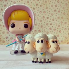Little Bo Peep has FOUND her sheep!🐑💕🐑💕🐑 Bo Peep Toy Story, Little Bo Peep, Princesas Disney, Pop Vinyl, 3rd Birthday, Funko Pop, Sheep, Toys, Halloween