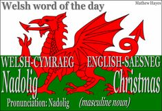 #Welsh word of the day: Nadolig/ #Christmas