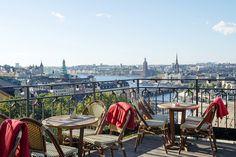Södra teatern med en av Stockholms bästa utsikter