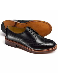 Handmade mens derby black dress shoes, Men good year welted real eather shoes sold by Urban footwear. Shop more products from Urban footwear on Storenvy, the home of independent small businesses all over the world. Black Brogues, Oxford Brogues, Black Leather Shoes, Leather Men, Leather Jackets, Calf Leather, Mens Dress Outfits, Men Dress, Black Dress Shoes
