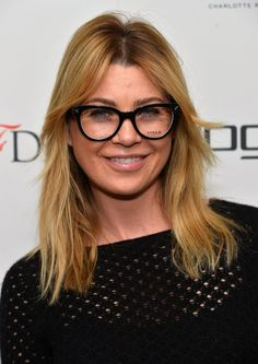 Pin for Later: 69 Celebs With Serious Specs Appeal Ellen Pompeo                                                                                                                                                                                 More